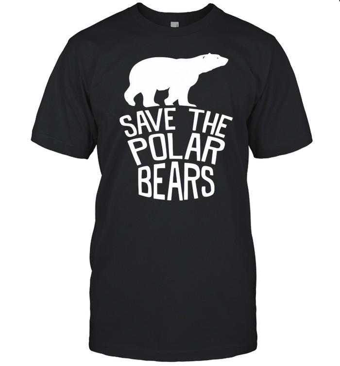 Save the polar bears shirt