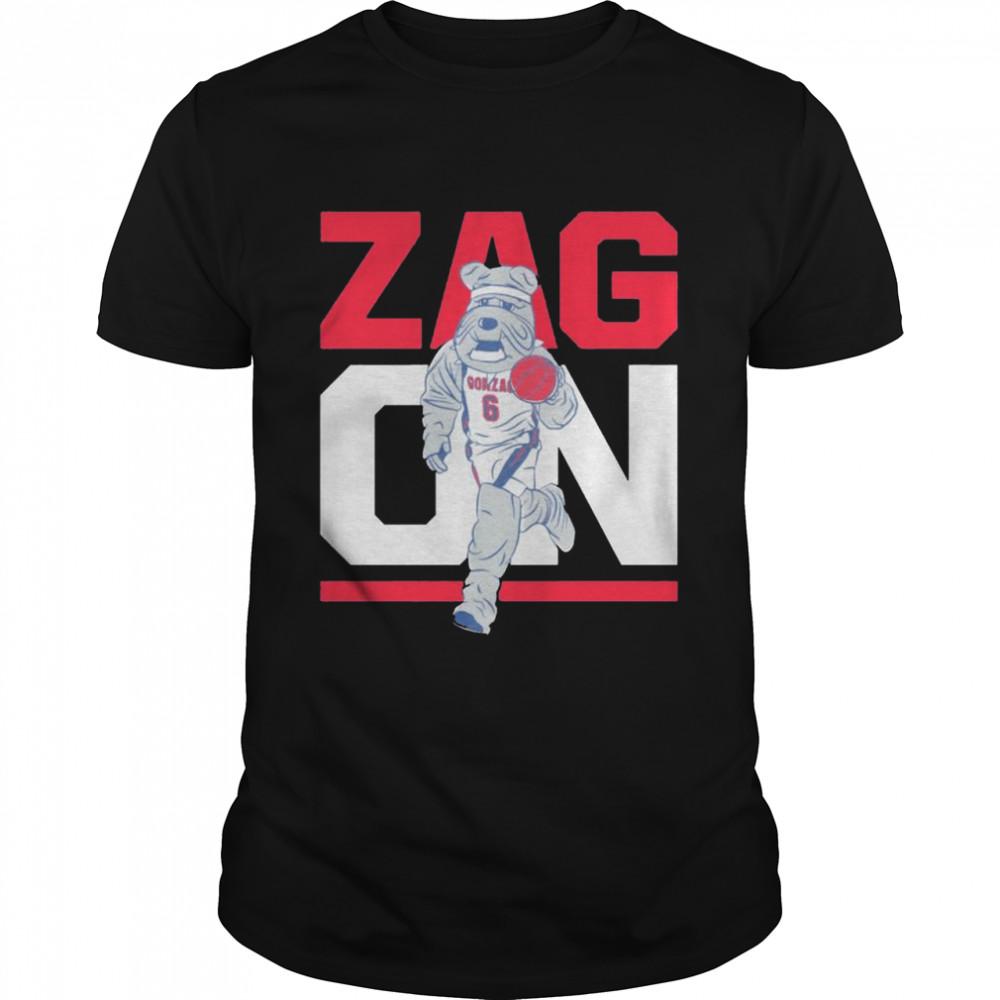 Gonzaga Bulldogs zag on shirt