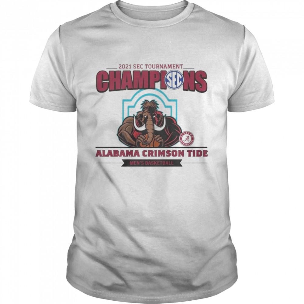 2021 Wac Tournament Champions Alabama Crimson Tide shirt