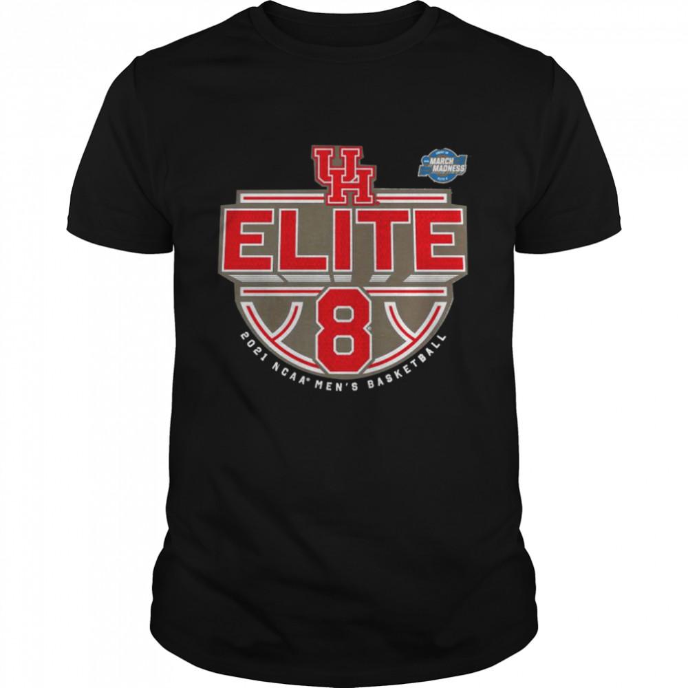 Houston Cougars 2021 NCAA men's basketball tournament march madness elite 8 shirt