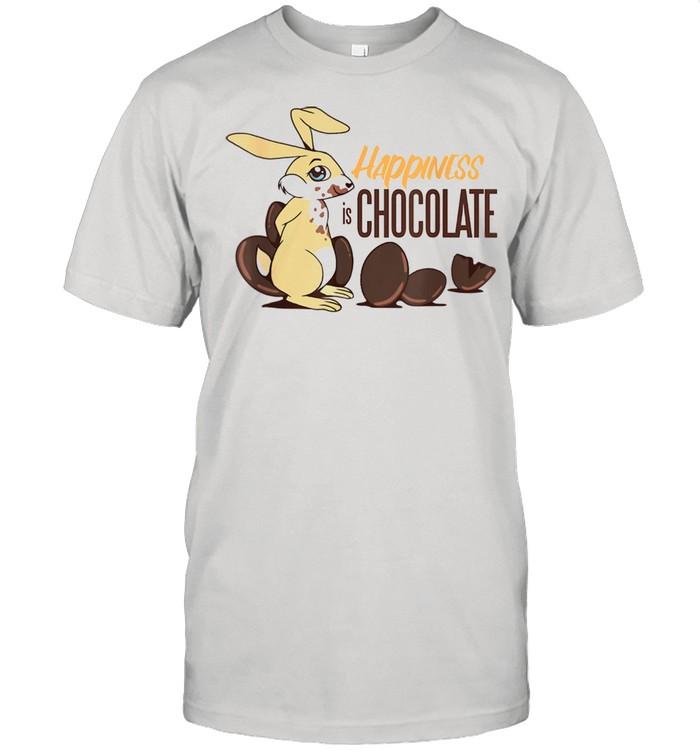 Rabbit loves sweet choco Easter bunnie Shirt
