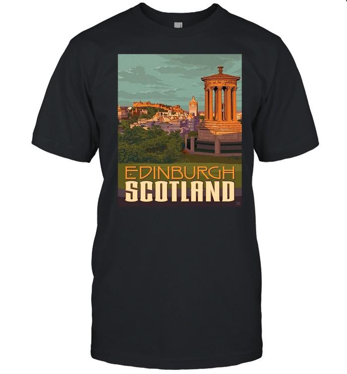 Edinburgh Travel Vintage Reprint T-shirt