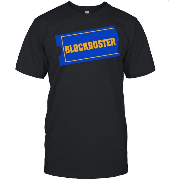 Blockbuster shirt