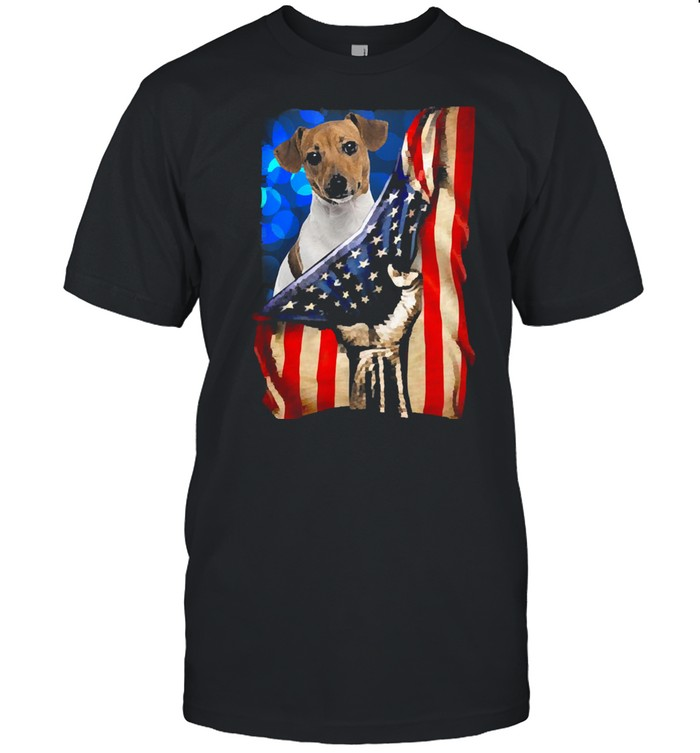 Jack russell terrier america 4th of july independence day shirt