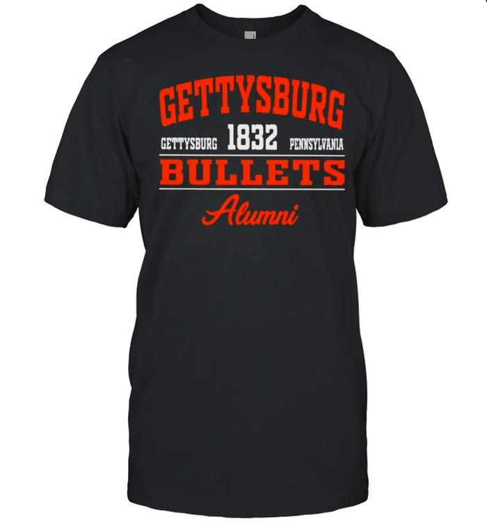 Gettysburg Bullets Alumni 1832 Pennsylvania Shirt
