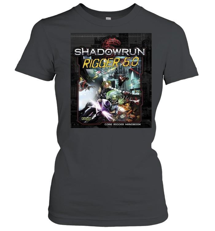 Shadowrun Rigger 5 Dragon  Classic Women's T-shirt