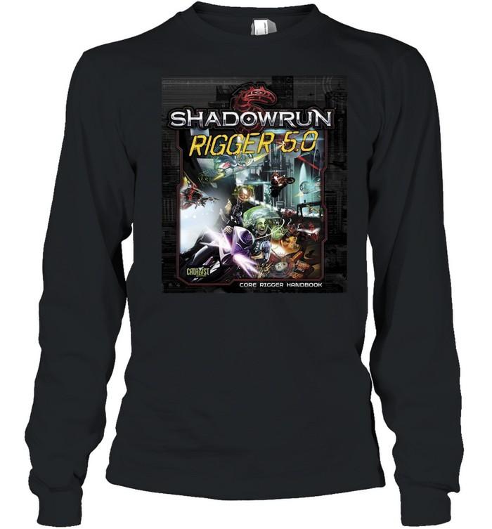 Shadowrun Rigger 5 Dragon  Long Sleeved T-shirt