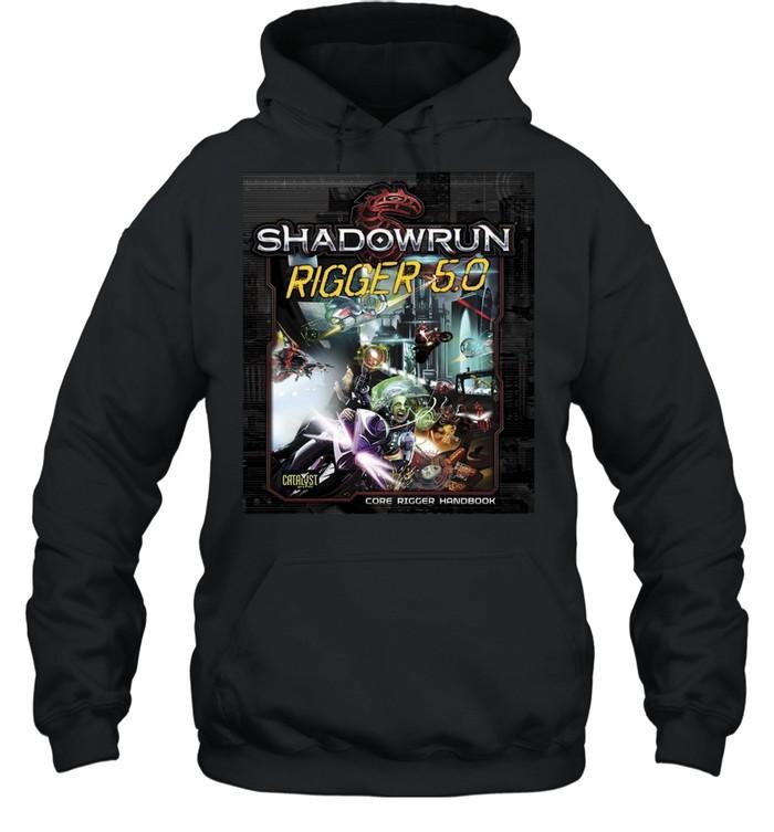 Shadowrun Rigger 5 Dragon  Unisex Hoodie