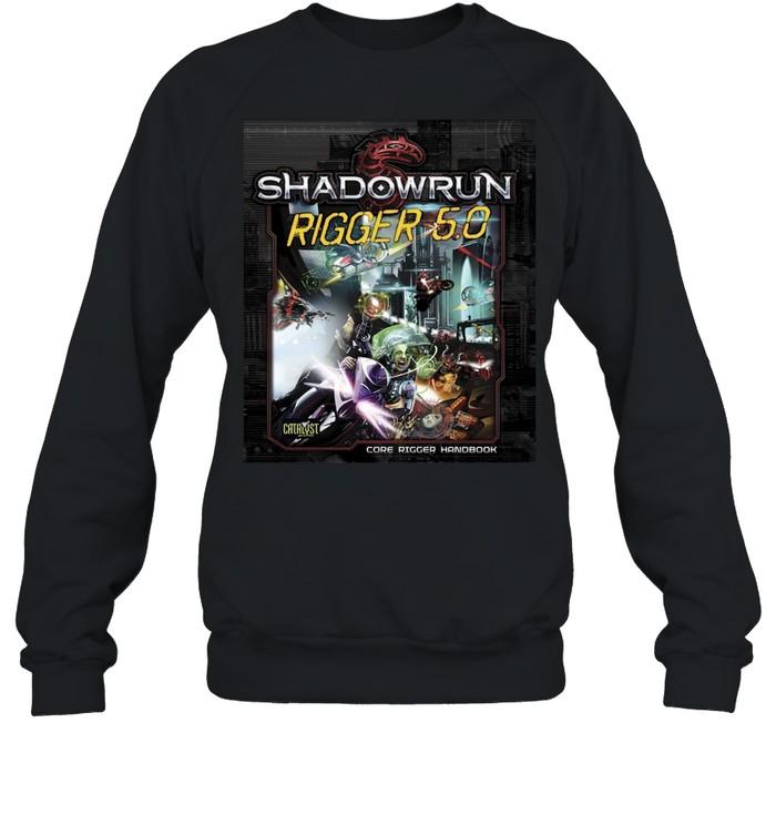 Shadowrun Rigger 5 Dragon  Unisex Sweatshirt