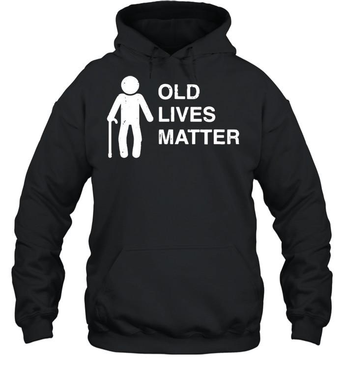 Old age birthday funny 30th 40th 50th 60th 70th 80th shirt Unisex Hoodie
