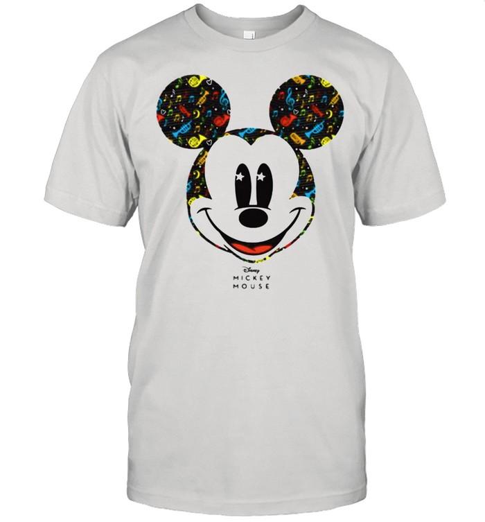 Mickey Mouse Music Disney Shirt