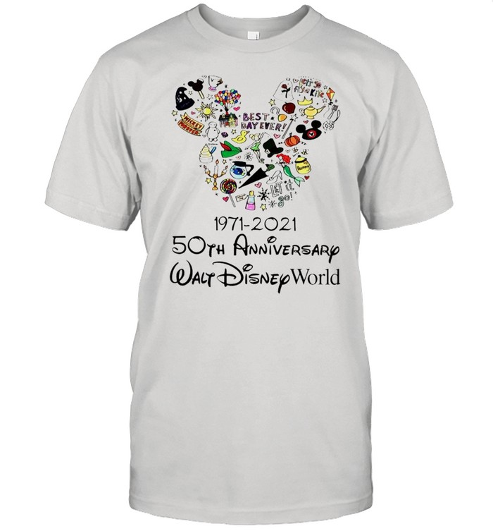 1971 2021 50th Anniversary MIckey mouse shirt