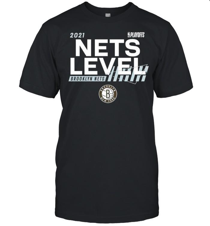 2021 NBA Playoffs Brooklyn Nets Nets level shirt