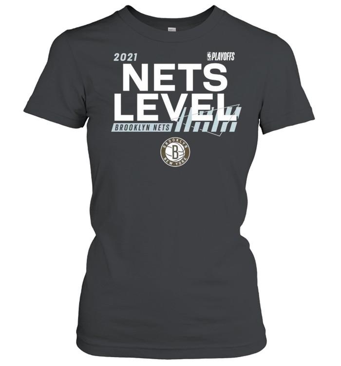 2021 NBA Playoffs Brooklyn Nets Nets level shirt Classic Women's T-shirt