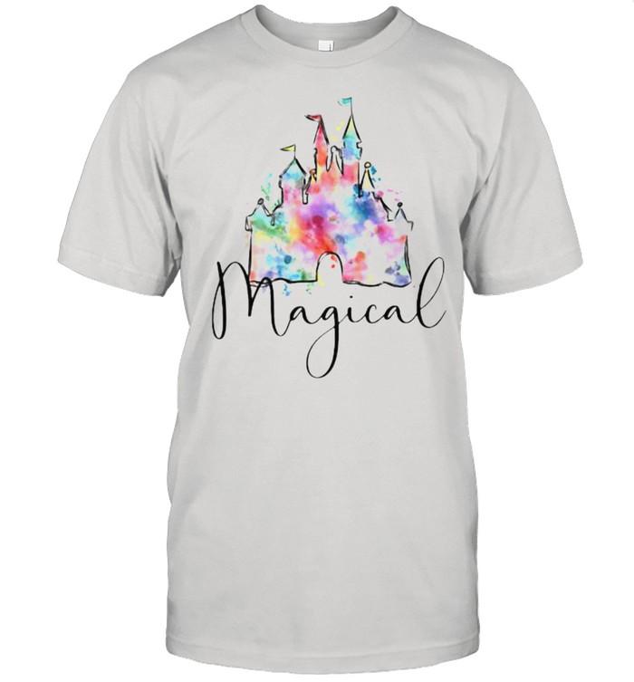 Magical Disney Watercolor shirt