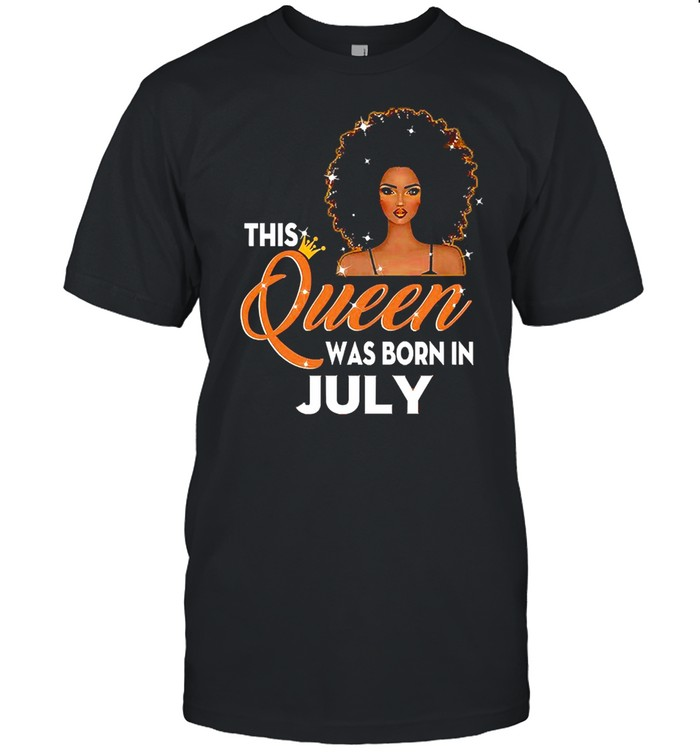 This Queen Was Born In June T-shirt