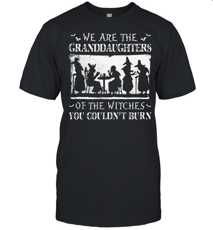 We are the granddaughters of the witches you couldnt burn shirt