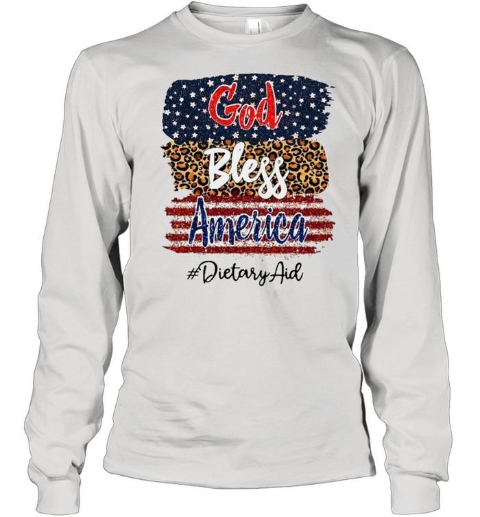 God Bless America Dietary Aid shirt Long Sleeved T-shirt