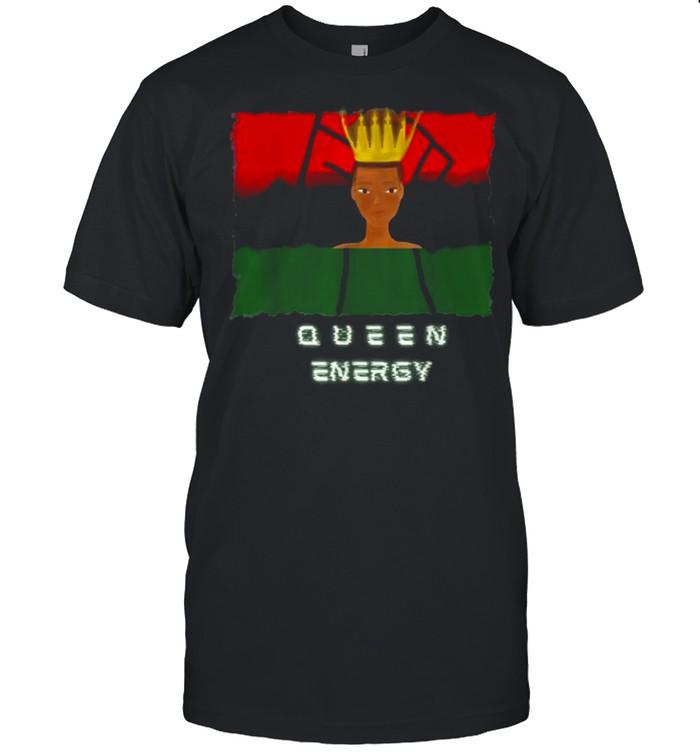 Melanin Black Queen Energy Woman Empowerment T-Shirt