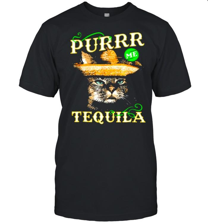 TEQUILA L1 Purr Cat Lover shirt