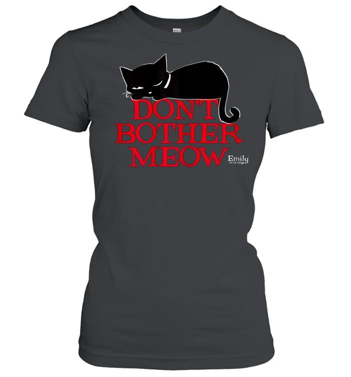 Emily The Strange Don't Bother MEow shirt Classic Women's T-shirt