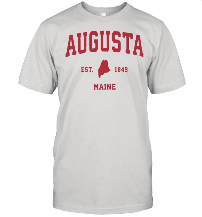 Augusta Maine 1849 ME Vintage Sports shirt