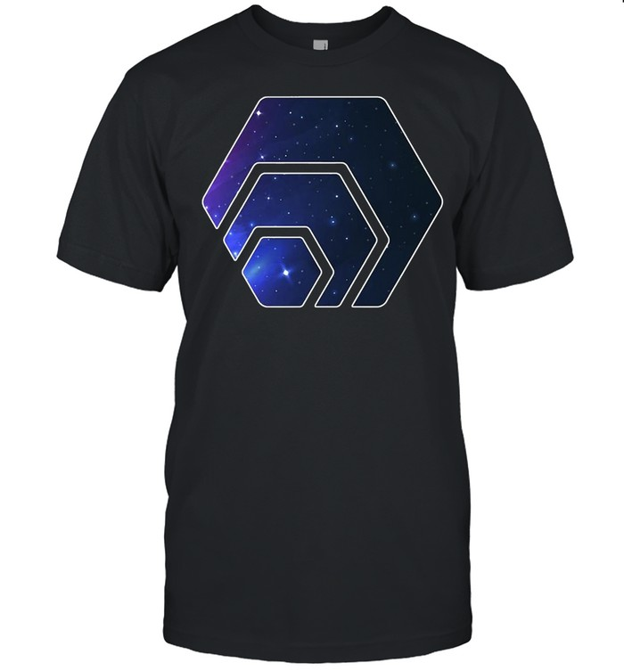 Hex Cryptocurrency Space Galaxy Stake Crypto T-shirt