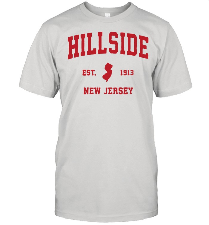 Hillside New Jersey 1913 NJ Vintage Sports T-Shirt