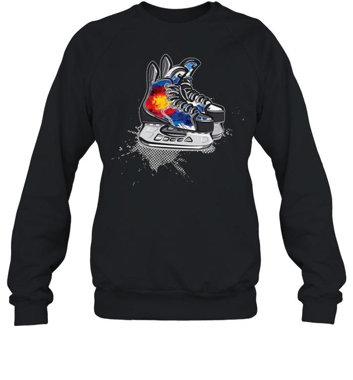 Colorado Hockey Skates T- Unisex Sweatshirt