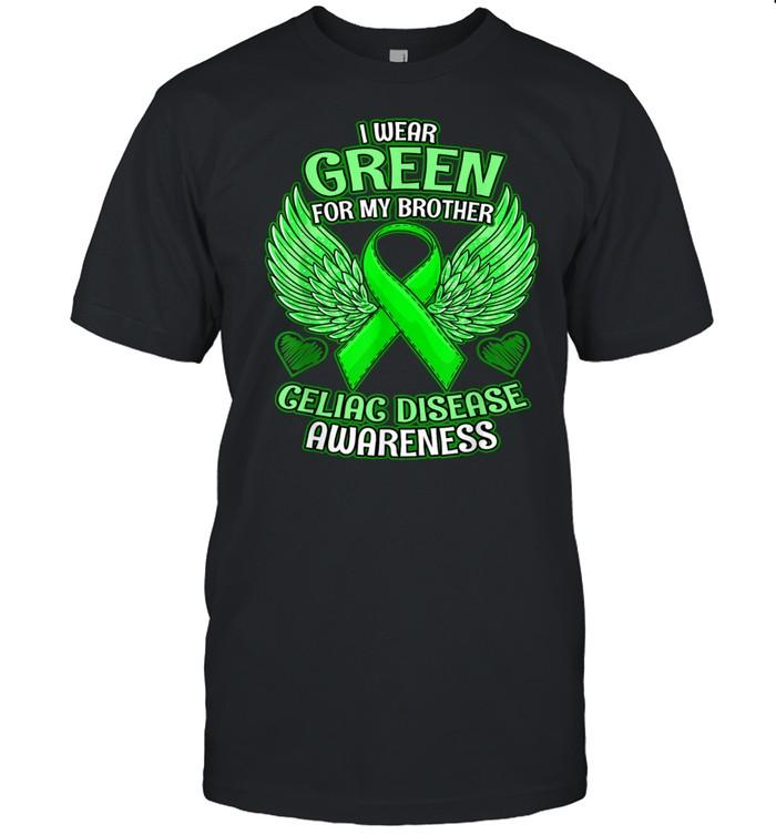 Celiac Disease Awareness Brother Support Ribbon shirt