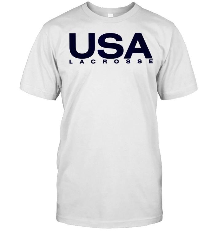 Big USA Lacrosse shirt