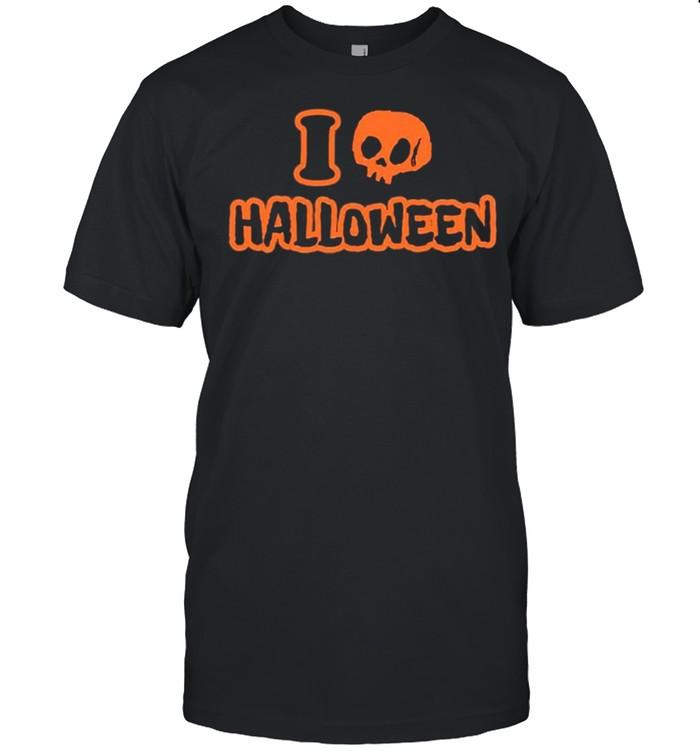 vamppixxiee I love halloween shirt