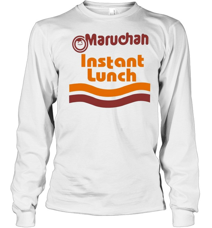 Ramen Noodle Maruchan Instant Lunch shirt Long Sleeved T-shirt