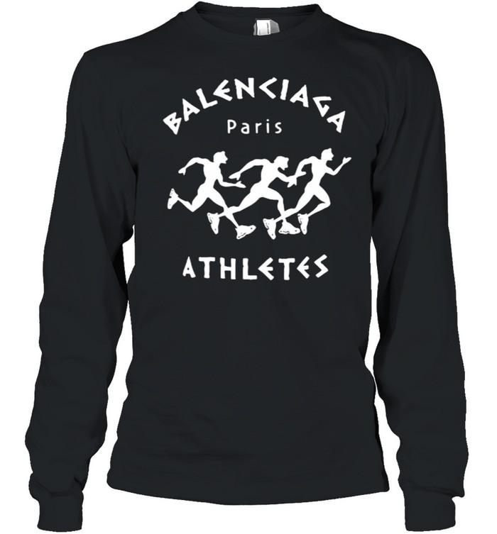 Balenciaga Paris Athletes  Long Sleeved T-shirt