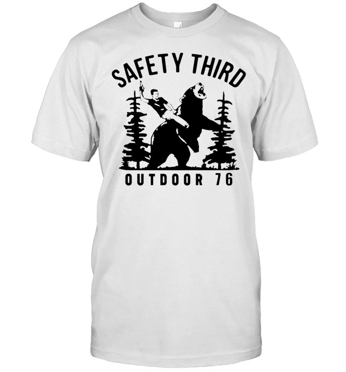 Beer safety third outdoor 76 shirt