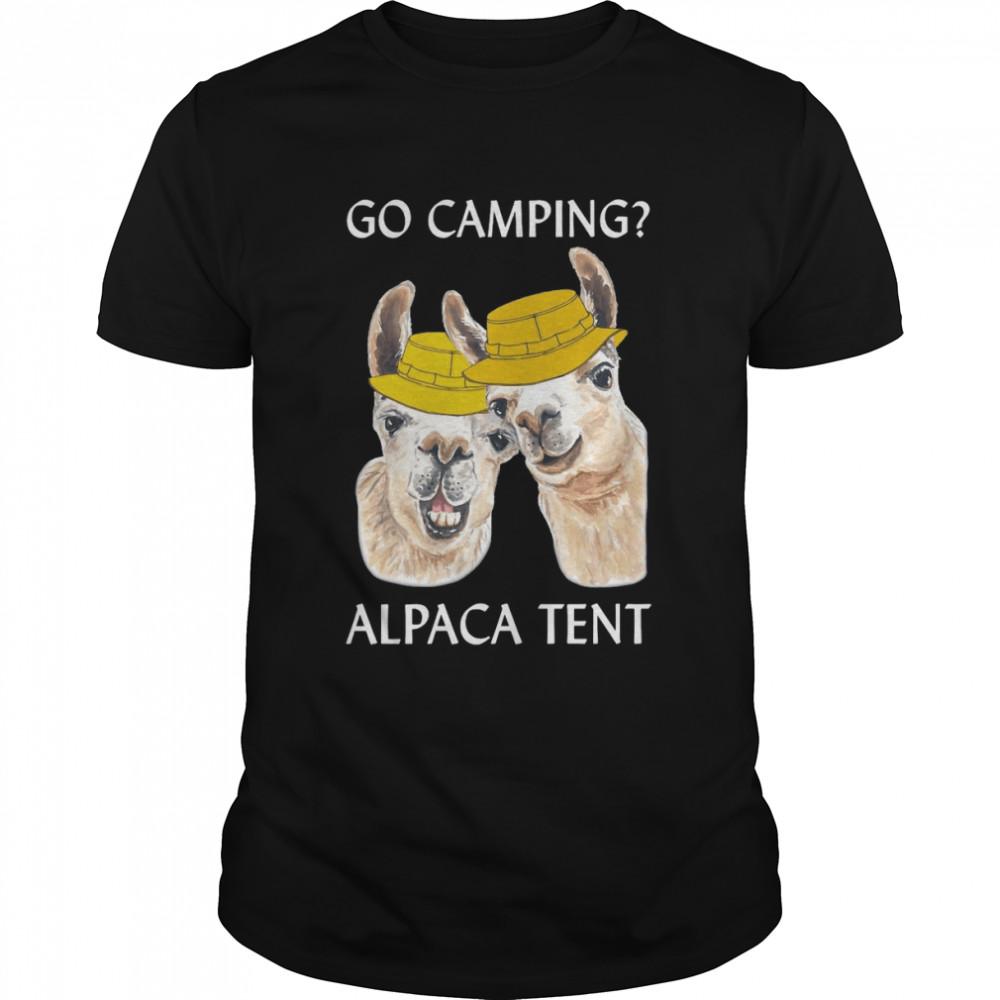 Go Camping Alpaca Tent T-shirt