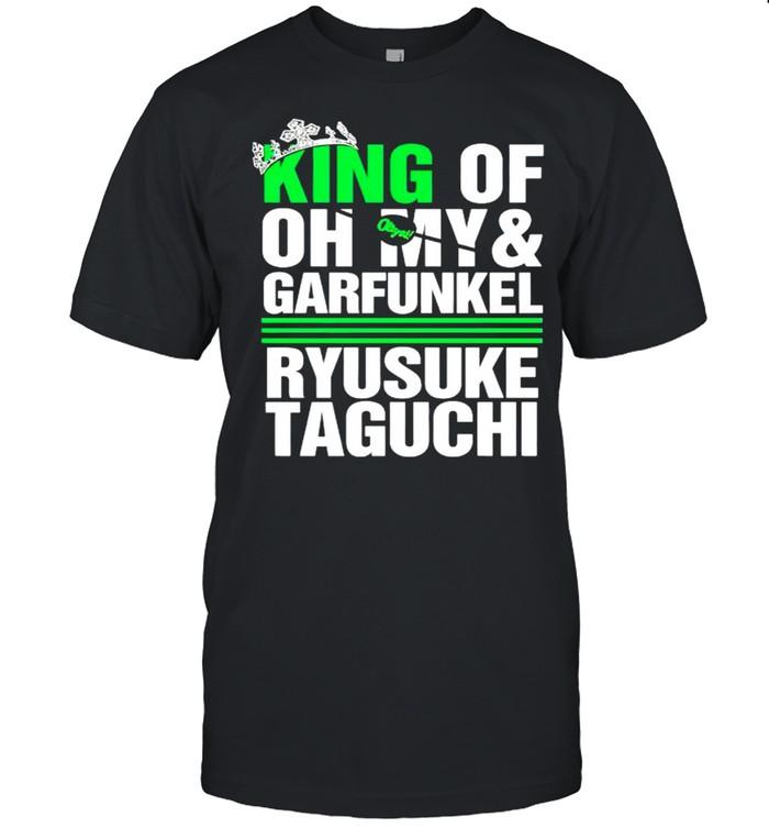 Ryusuke Taguchi king of oh my and garfunkel shirt