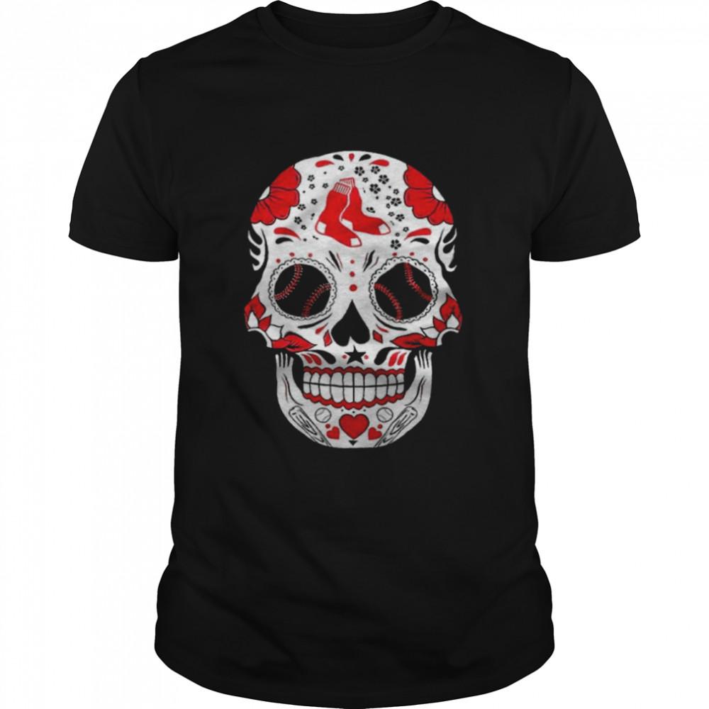 Atlanta Braves MLB Baseball Punisher Skull shirt